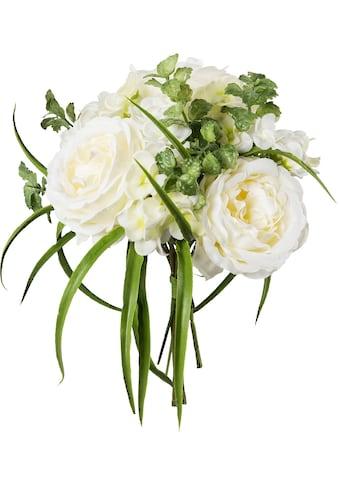 Creativ green Kunstpflanze »Bouquet aus Rosen und Hortensien« (1 Stück) kaufen