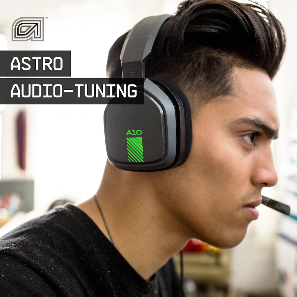 ASTRO Gaming-Headset »Gaming A10«, mit Kabel, Dolby ATMOS, Xbox Series X|S, PS5, PS4, PC