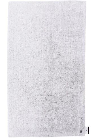 Badematte »Cotton Double Uni«, TOM TAILOR, Höhe 20 mm, beidseitig nutzbar fußbodenheizungsgeeignet strapazierfähig kaufen