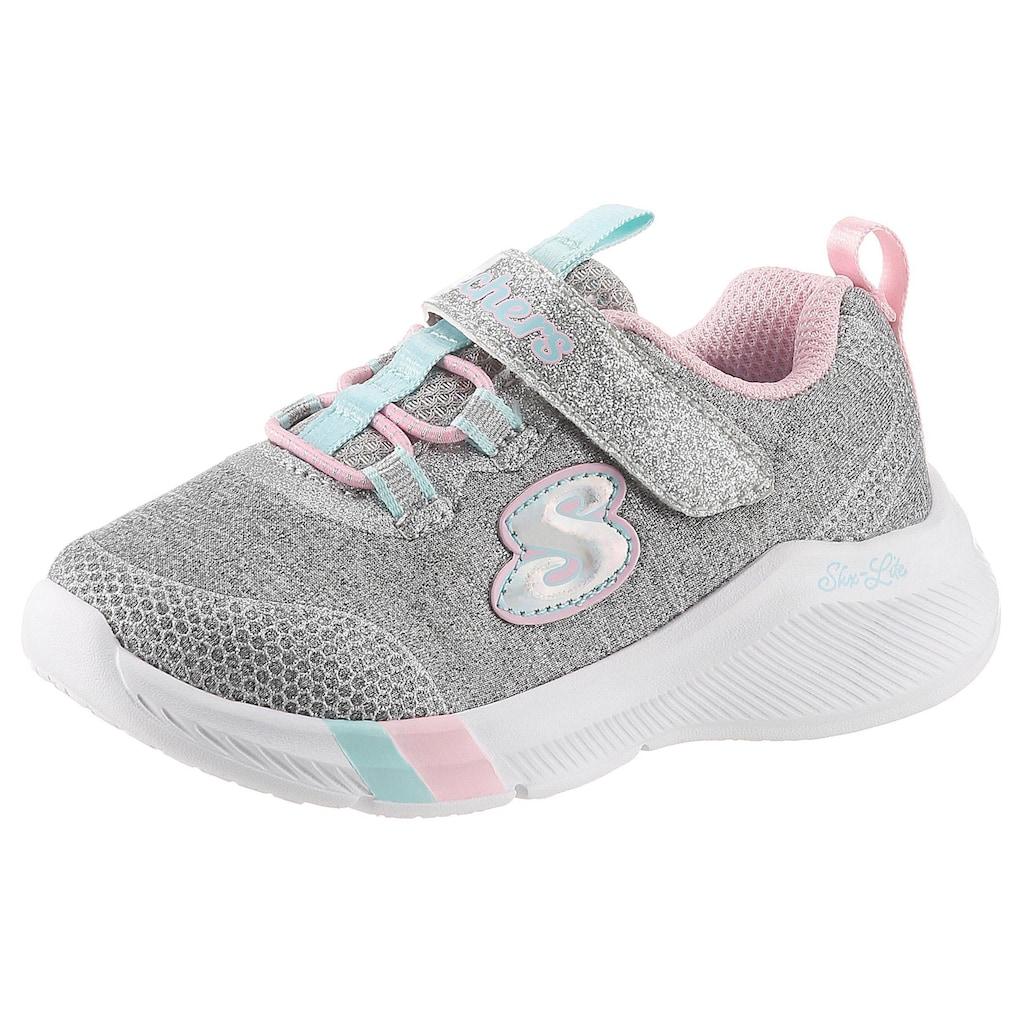 Skechers Kids Sneaker »Dreamy Lites«, mit praktischem Klettverschluss