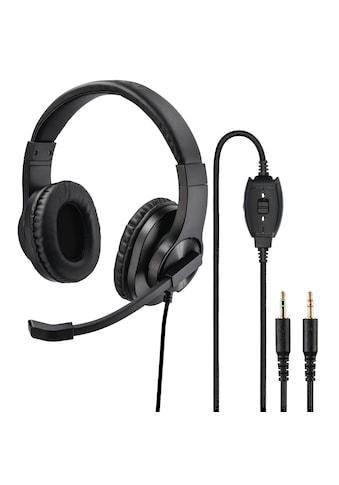 "Hama PC-Office-Headset ""HS-P300"", Stereo, Schwarz kaufen"