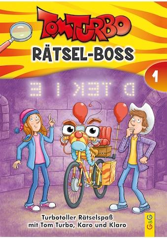 Buch »Tom Turbo - Rätsel-Boss 1 / Matthias Kahl, Edith Thabet, Tom Storyteller GmbH« kaufen