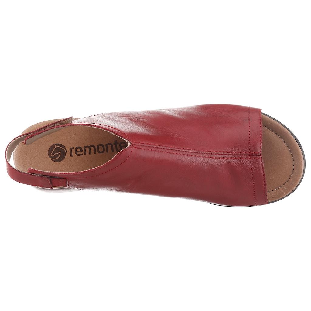 Remonte Sandalette, mit praktischem Klettverschluss