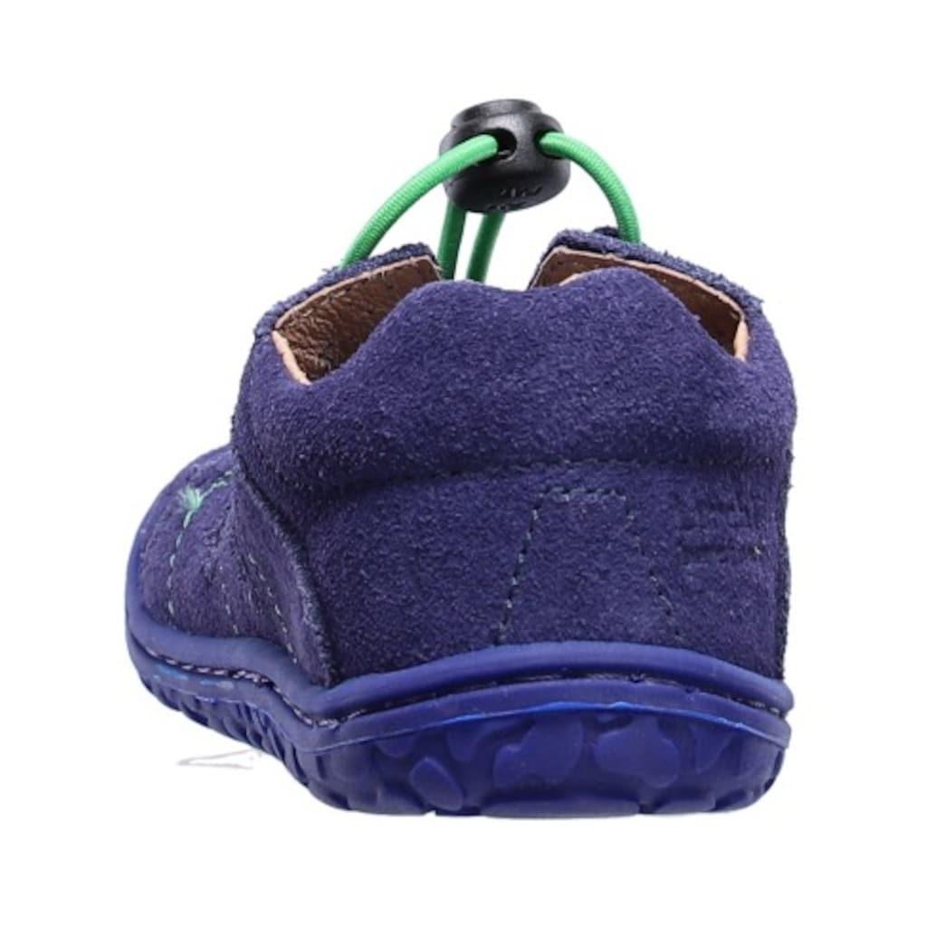 Lurchi Sandale »Barfußschuh Nathan Weitenmesssystem«, mit Schnellverschluss