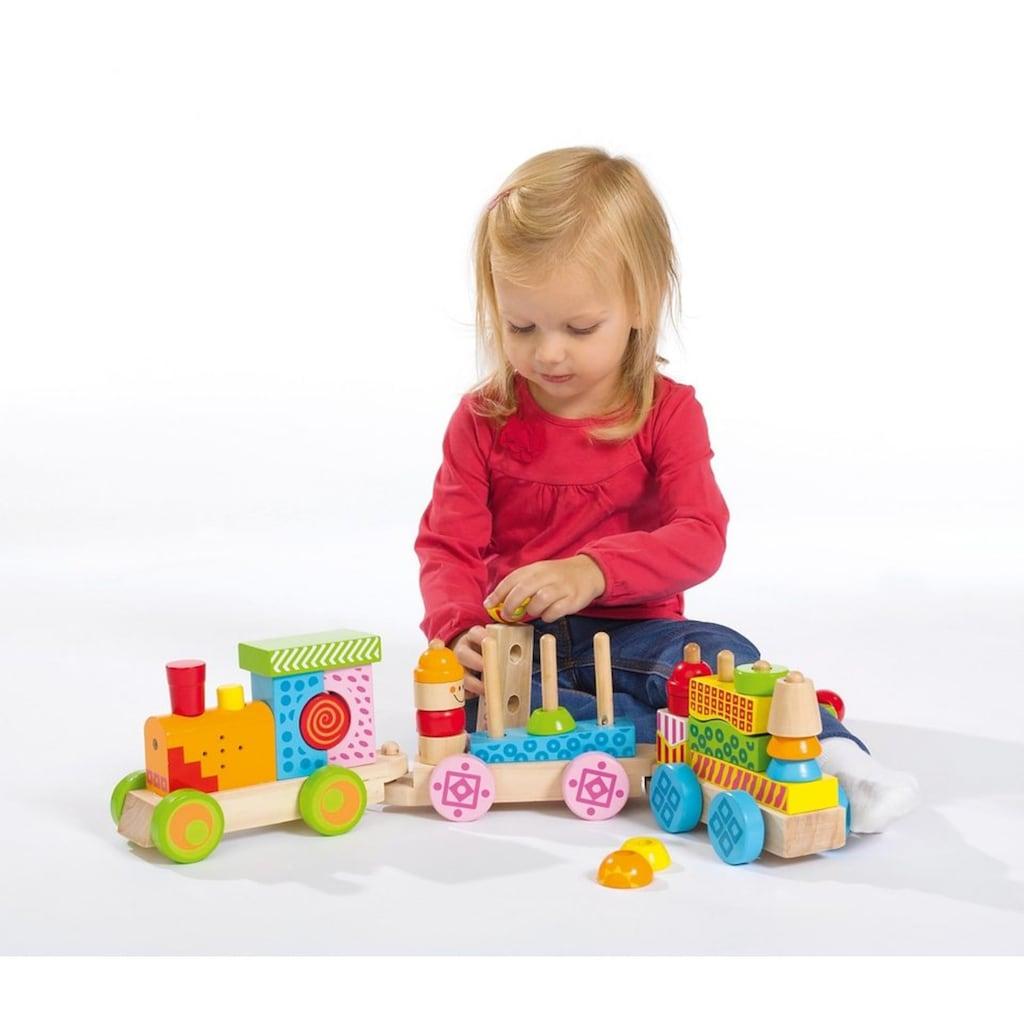 Eichhorn Spielzeug-Eisenbahn »Holz-Soundzug«, mit Licht- und Soundfunktion