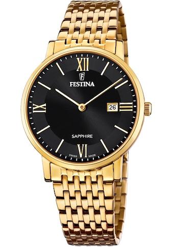 Festina Schweizer Uhr »Festina Swiss Made, F20020/3« kaufen