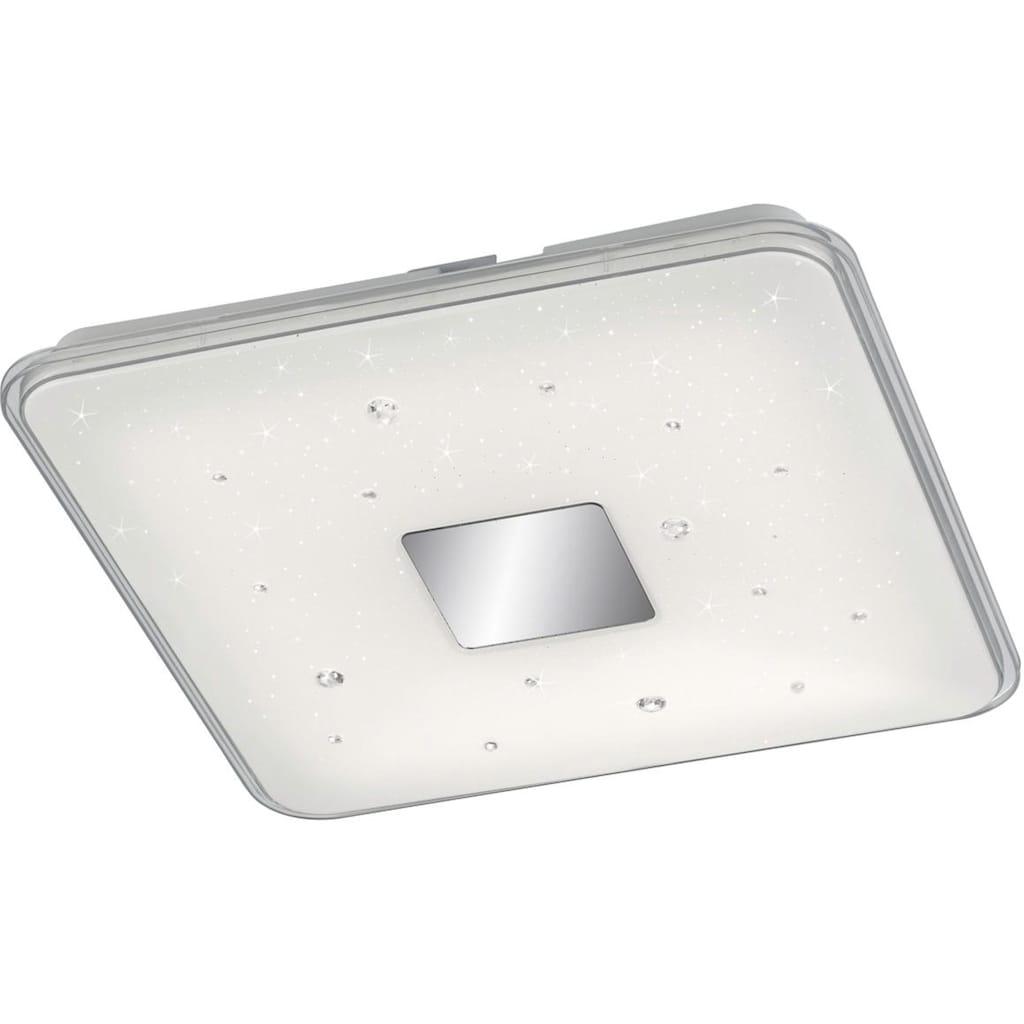 TRIO Leuchten LED Deckenleuchte »Raiko«, LED-Board, Warmweiß-Neutralweiß-Tageslichtweiß, integrierter Dimmer
