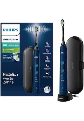 Philips Sonicare Schallzahnbürste »Sonicare HX6851/53«, 1 St. Aufsteckbürsten, ProtectiveClean 5100 mit Andruckkontrolle kaufen
