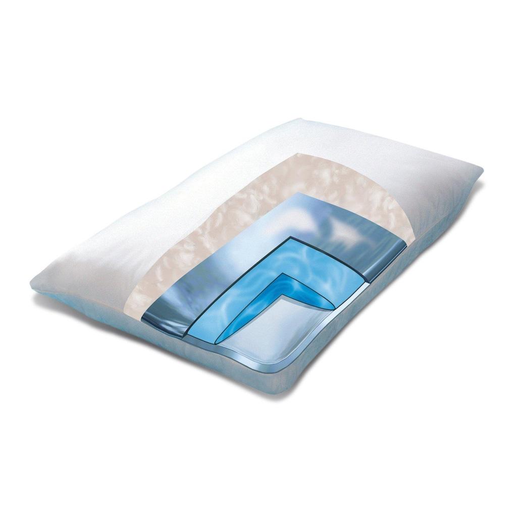 Mediflow Wasserkissen »versch. Ausführungen«, Bezug: 100% Baumwolle, (2 St.)
