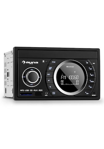 Auna Autoradio Bluetooth USB SD MP3 Mikrofon Freisprechanlage »MD 210« kaufen