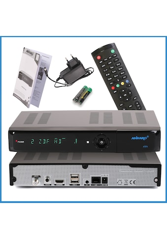 Ankaro SAT-Receiver »ANK AVA UHD 4K«, ( ), PVR Ready, IP TV Ready kaufen