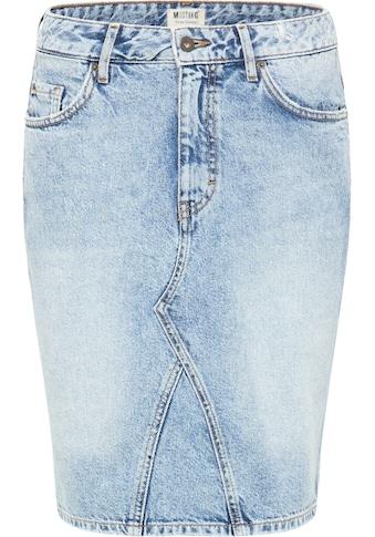 MUSTANG Jeansrock »Midi Skirt« kaufen