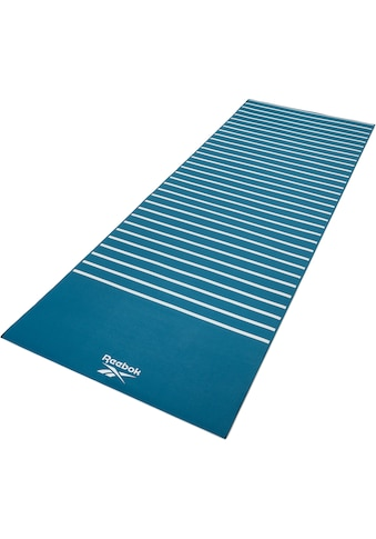 Reebok Yogamatte »Reebok Yogamatte mit Streifen -  beidseitig, rutschfest« kaufen