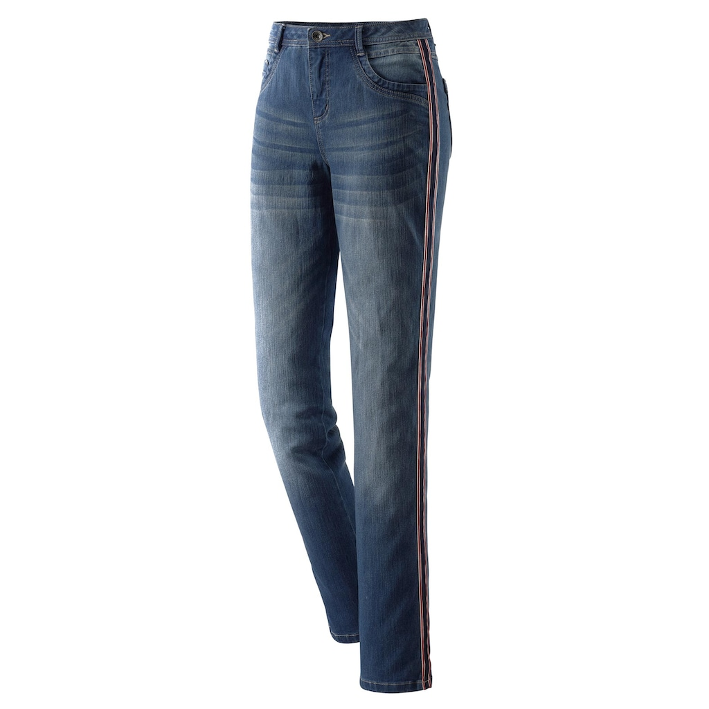 Casual Looks 5-Pocket-Jeans