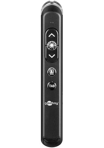 Goobay Wireless Presenter WP 01 »Kompakter kabelloser Presenter« kaufen