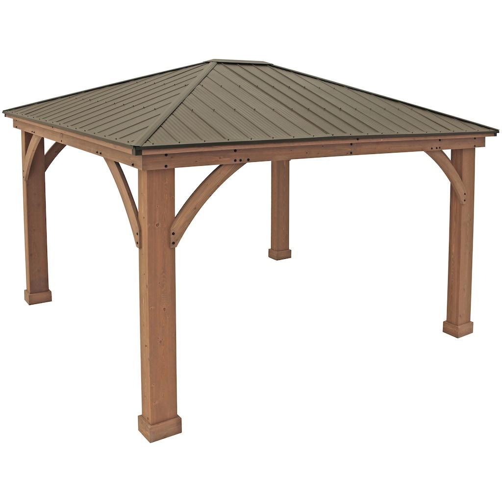 WESTMANN Holzpavillon »Devon 12x14«, BxT: 366x427 cm
