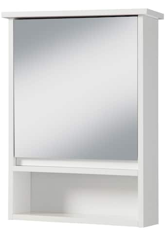PHOENIX MÖBEL Spiegelschrank »Luzern«, Spiegelschrank mit Tür und 3 Ablagen kaufen