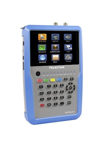 TELESTAR TELESTAR SATPLUS 3, digitaler Messempfänger »SATPLUS 3« kaufen