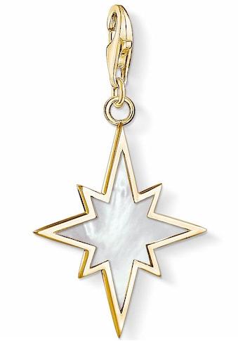 THOMAS SABO Charm-Einhänger »Stern Perlmutt, 1539-429-14«, mit Perlmutt kaufen