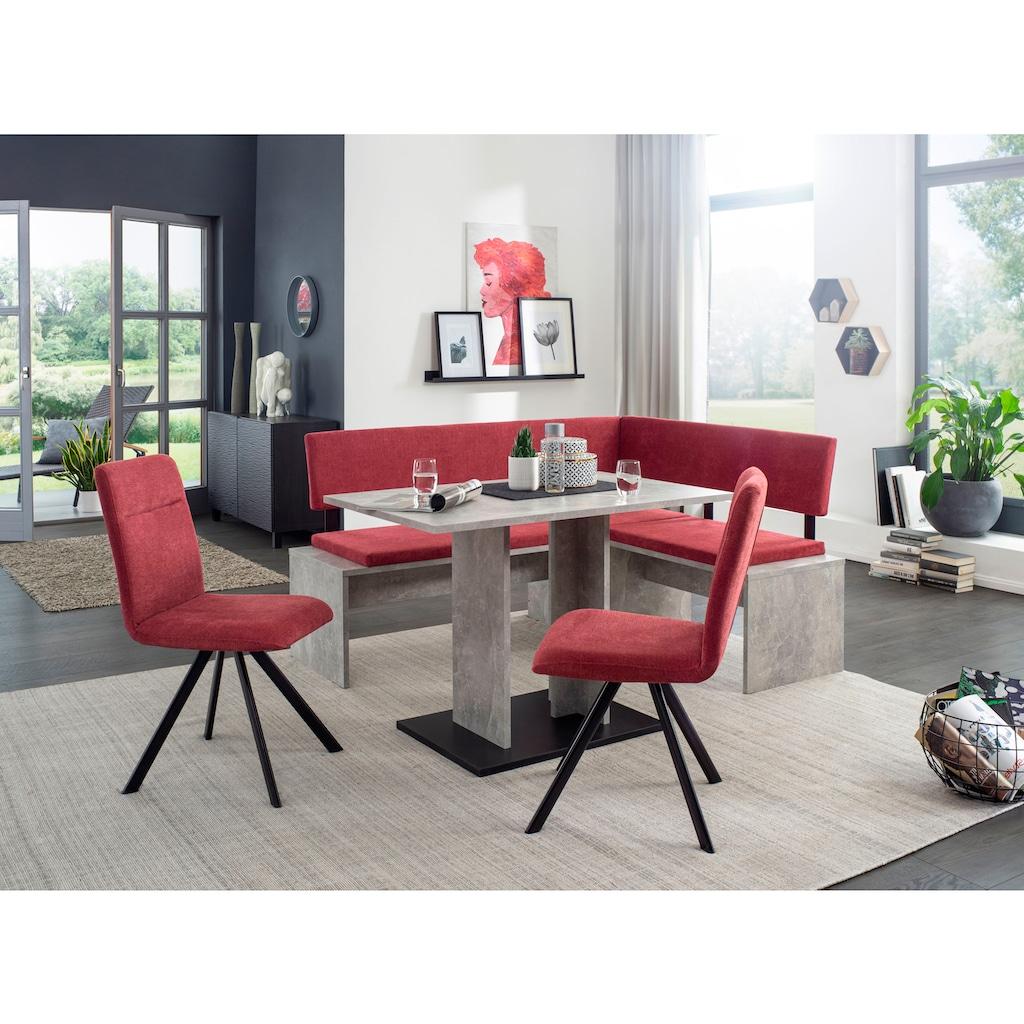 SCHÖSSWENDER Eckbankgruppe »Elegance«, frei im Raum stellbar
