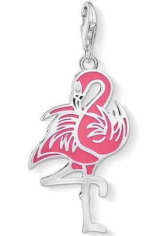 THOMAS SABO Charm-Einhänger »Flamingo, 1519-041-9«, mit Emaille und Zirkonia kaufen