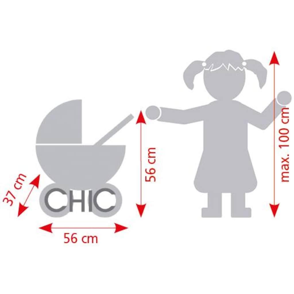 CHIC2000 Puppenwagen »Smarty brombeere«, mit herausnehmbarer Tragetasche