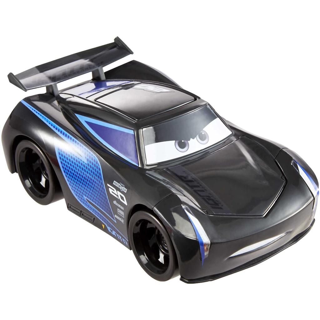 Mattel® Spielzeug-Auto »Pixar Cars Track Talkers Jackson Storm«, mit Soundfunktion