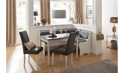 Home affaire Essgruppe »Spree«, (Set, 5 tlg.), bestehend aus Eckbank, Tisch und 2 Stühlen kaufen