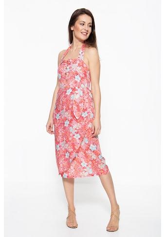 QueenKerosin Sommerkleid, mit tropischem Muster kaufen