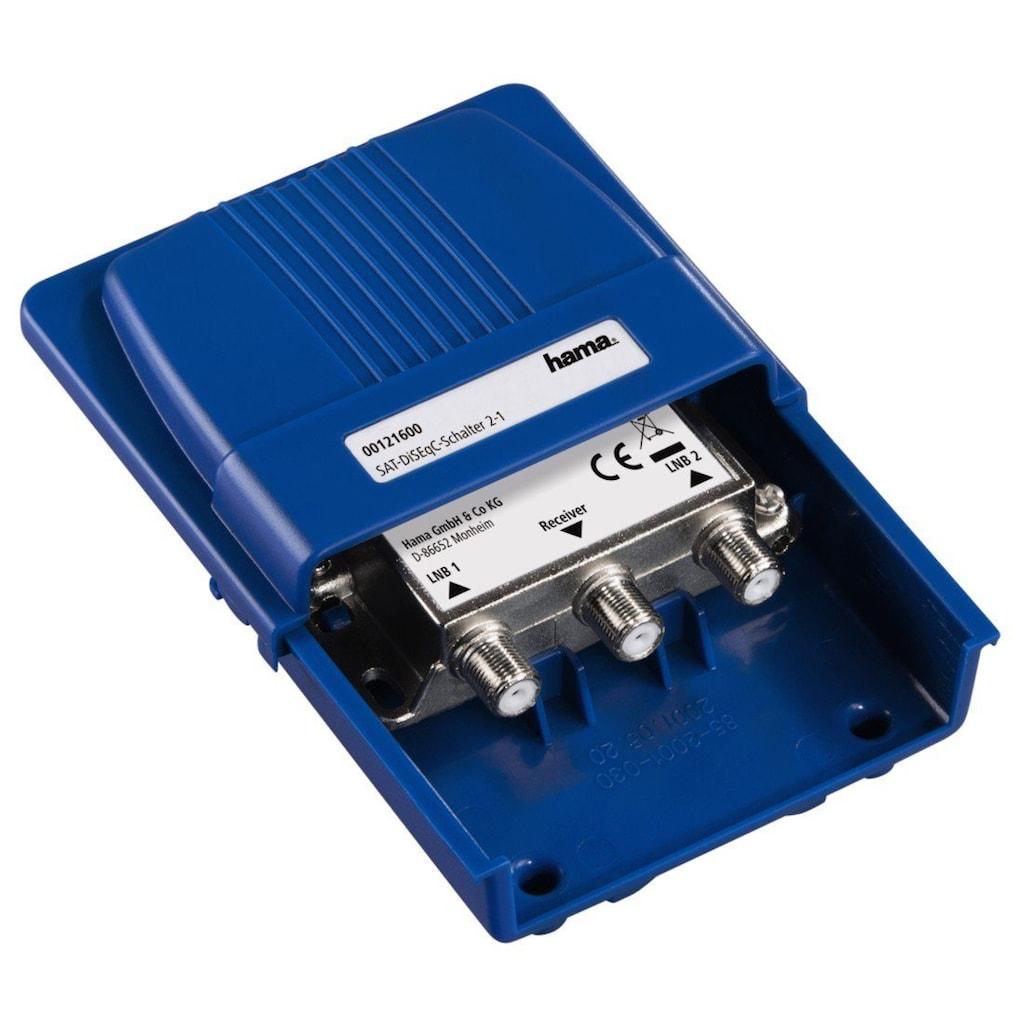 Hama SAT-DiSEqC-Schalter 2-1