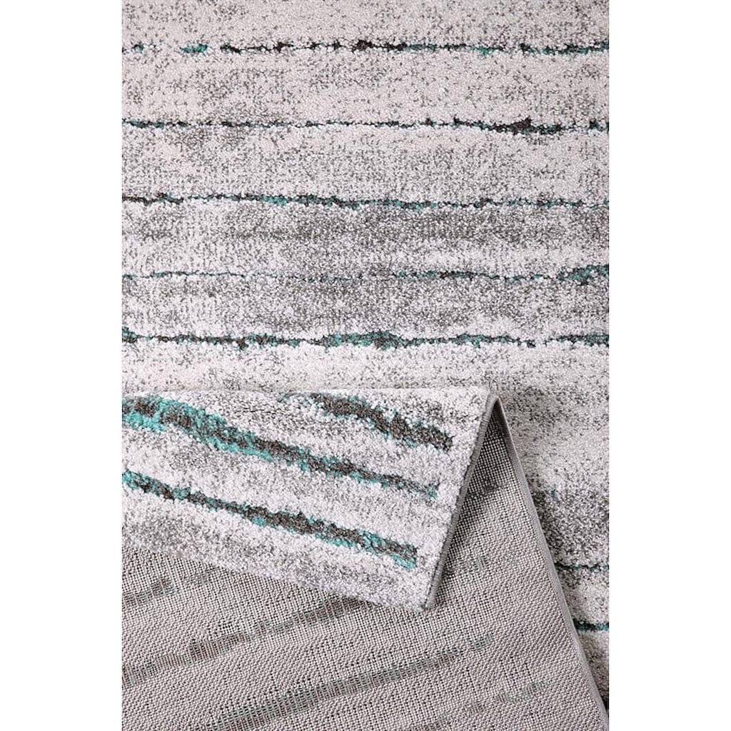 Wecon home Teppich »Woodland«, rechteckig, 13 mm Höhe, Wohnzimmer