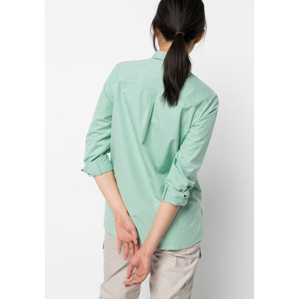 Jack Wolfskin Outdoorbluse »LAKESIDE ROLL-UP SHIRT W«