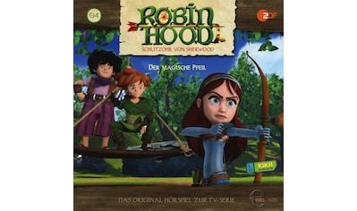Musik - CD (4)Original Hörspiel z.TV - Serie - Der Magische Pfeil / Robin Hood - Schlitzohr Von Sherwood, (1 CD) kaufen