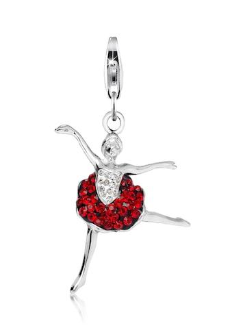 Nenalina Charm-Einhänger »Anhänger Ballerina Kristalle 925 Silber« kaufen