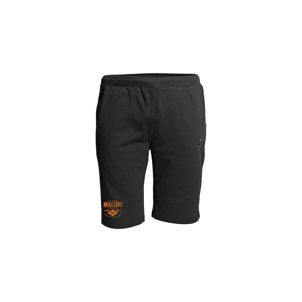 AHORN SPORTSWEAR Shorts mit kurzem Bein und Print