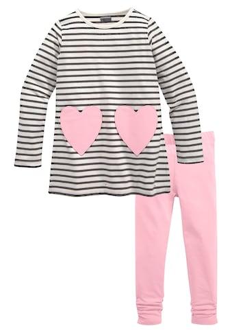 KIDSWORLD Longshirt & Leggings, mit Taschen in Herzform kaufen