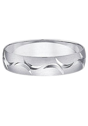 Firetti Trauring mit Gravur »Seidenmatt, Diamantschnitt, Silber 925, 5 mm breit« kaufen