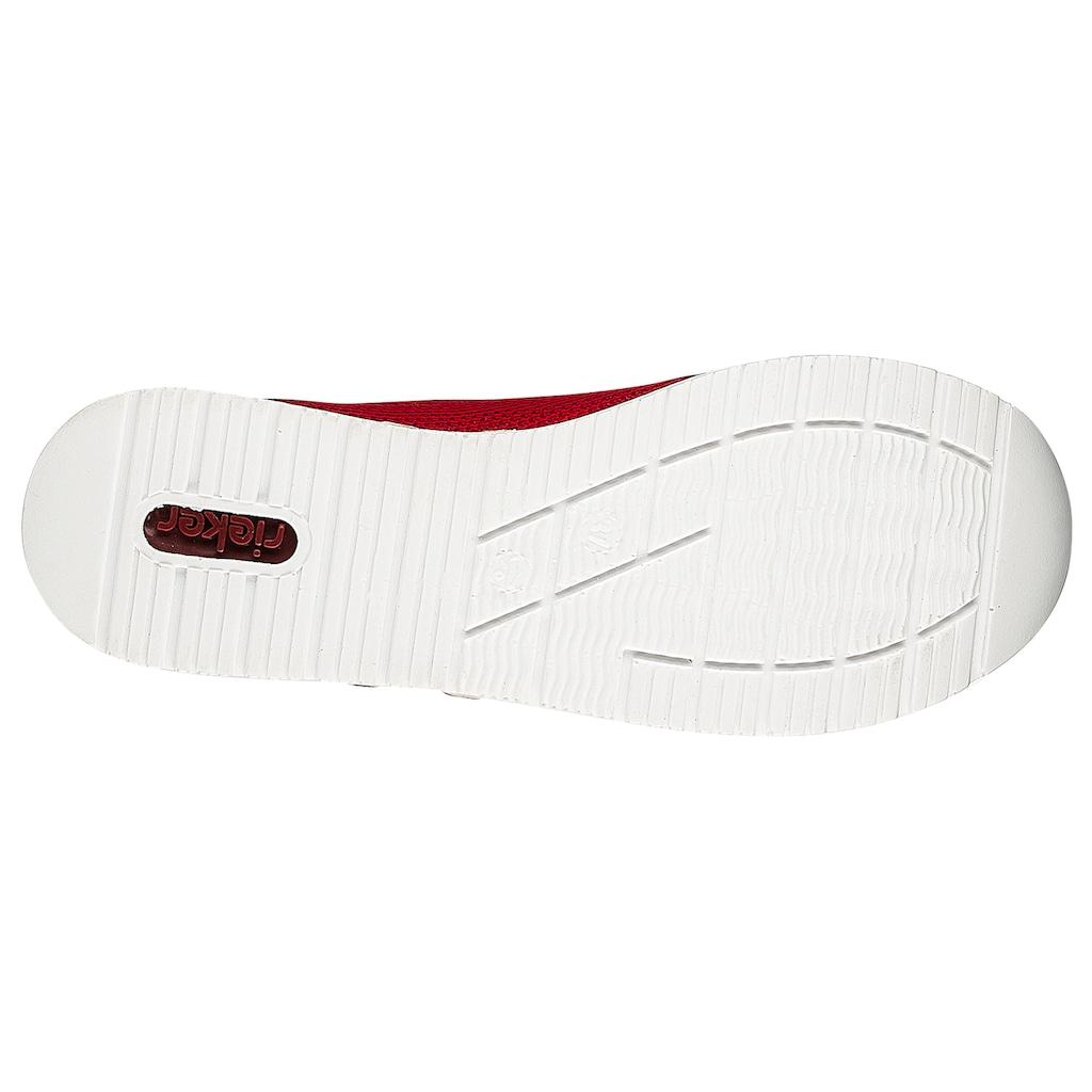 Rieker Slip-On Sneaker, mit praktischem Gummizug
