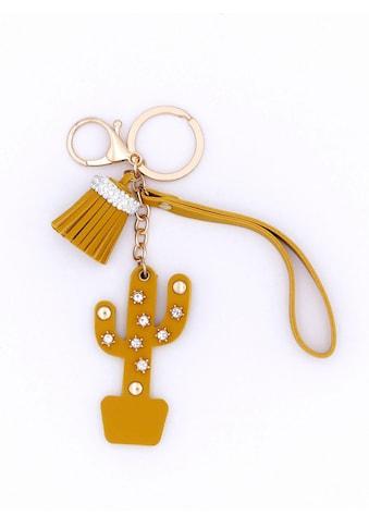 J.Jayz Schlüsselanhänger »mit Quasten -  und Kaktusanhänger« kaufen