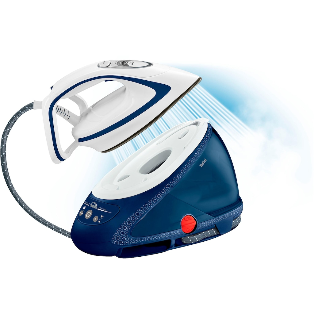 Tefal Dampfbügelstation Pro Express Ultimate Care GV9580, 1900 ml Wassertank, 2830 Watt