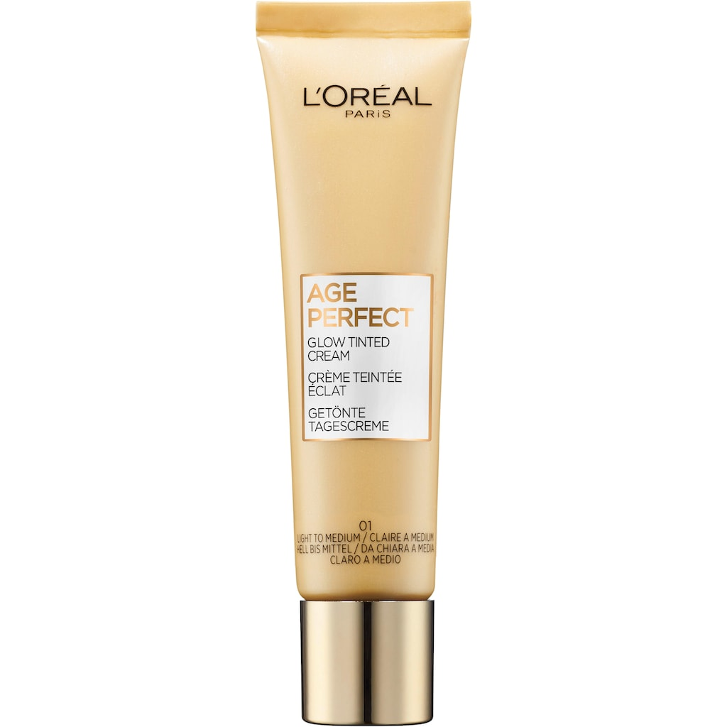 L'ORÉAL PARIS Getönte Gesichtscreme »Age Perfect Glow Tinted Cream«