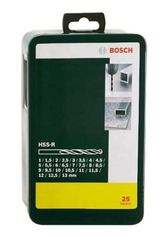 BOSCH Metallbohrer »HSS-R (25-tlg.)«, (25 tlg.), HSS-R-Metallbohrer-Set kaufen