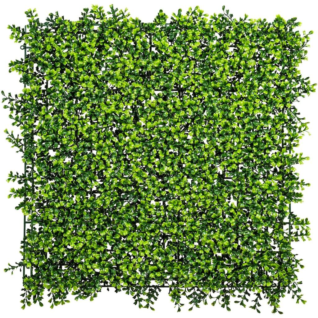 Creativ green Kunstpflanze »Buchsbaummatte«