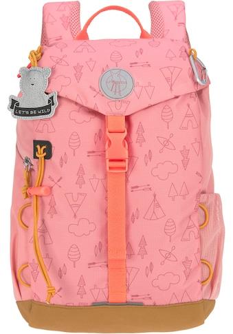 LÄSSIG Kinderrucksack »Adventure, rose, Mini Backpack«, Reflektoren, inkl.... kaufen