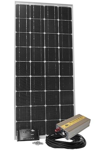 Sunset Solarmodul »Stromset AS 140, 140 Watt, 230 V«, für Gartenhäuser oder Reisemobil kaufen