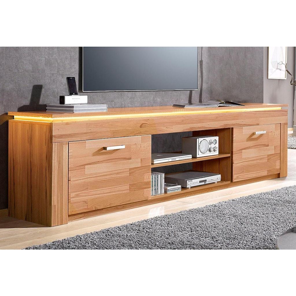 Lowboard, Breite 222 cm