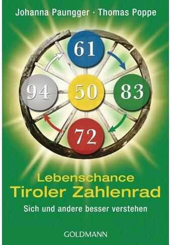 Buch »Lebenschance Tiroler Zahlenrad - - / Johanna Paungger, Thomas Poppe« kaufen