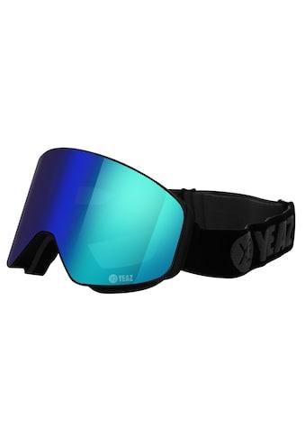 YEAZ Skibrille »APEX«, mit Magnet-Wechsel-System für Gläser, grün/schwarz kaufen