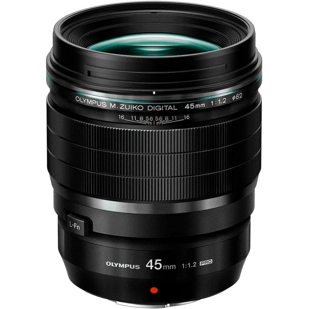 Olympus Teleobjektiv »M.ZUIKO DIGITAL ED 45 mm F1.2 PRO«
