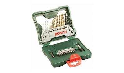 BOSCH Set: Bohrer -  und Bit - Set »X - Line Titanium«, 30 - tlg. kaufen
